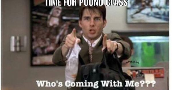 Pound Rockout Workout Funny Meme Coming With Me Tom Cruise