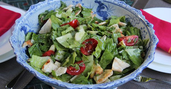 The Culinary Chase: Fattoush Salad | SALAD Delights | Pinterest ...