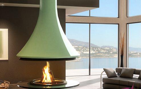 A Modern Fireplace