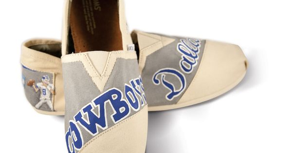 Dallas Cowboys TOMS I am not a TOM fan but I would