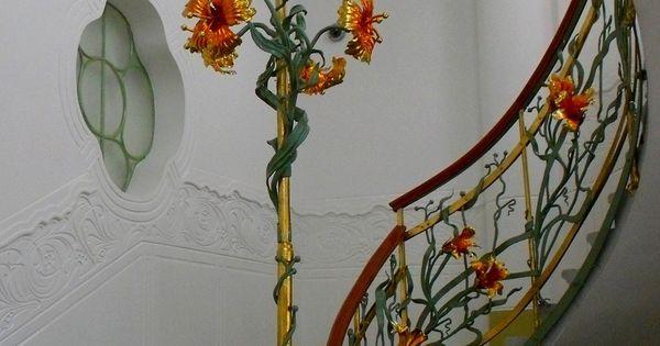 jugendstil treppenhaus von barsanyi steps. Black Bedroom Furniture Sets. Home Design Ideas