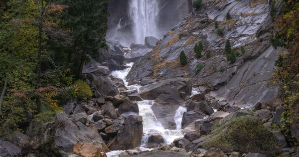 Vernal Fall - Yosemite National Park EVERY PLACE in Yosemite is a