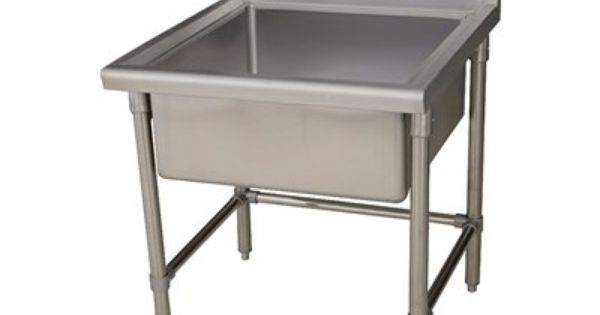 Noah S Collection Commercial Freestanding Laundry Utility Sink 14