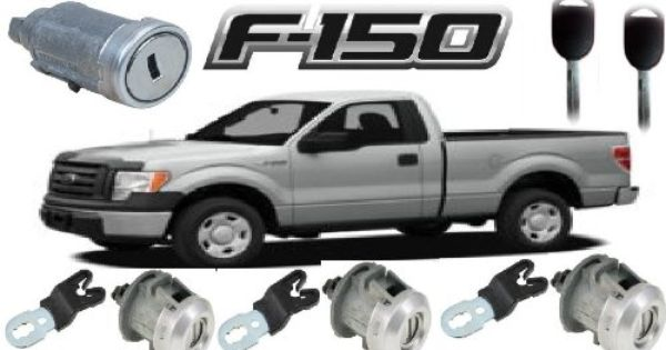 Ford F 150 250 350 Pick Up Truck Keyed Tailgate Door Locks Plus Transponder Keyed Starter Ignition Switch Cylinder Lock Set Cylinder Lock Ford F150 Tailgate
