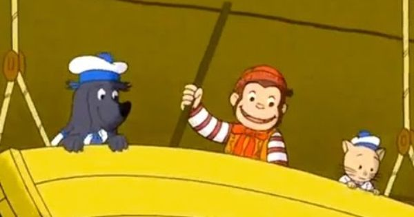 Curious George Curious George Sinks The Pirate Youtube