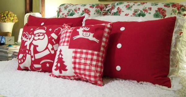 Throw Pillows Dollar General : Cute Christmas Pillows A NorthWoods Christmas ? Pinterest Christmas pillow, Cherry hill ...