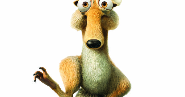 scrat loves hanging around an ice age christmas