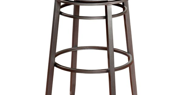 This counter bar stool comes in a classic backless design with a padded vinyl seat and wide set - Classic bar counter design ...