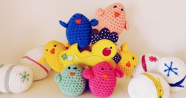 Eggs & Chicks Easter Crochet amigurumi via Craftsy ...