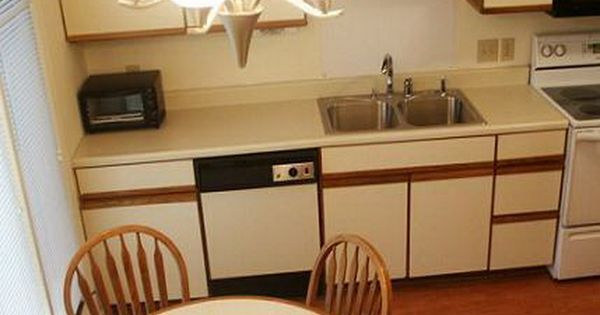 Trend painting laminate cabinets cabinets pinterest for Best primer for painting kitchen cabinets
