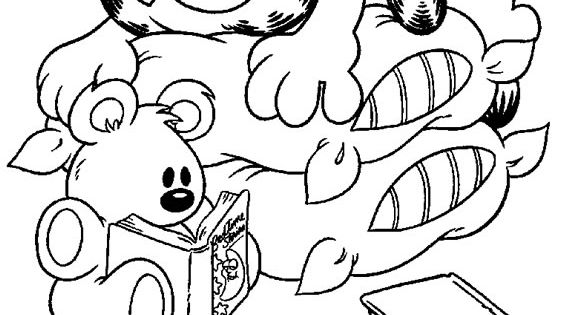 pooky coloring pages - photo#11