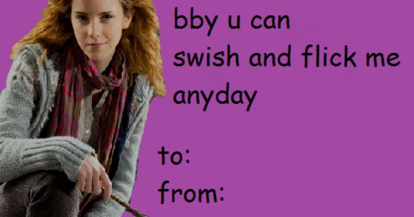 Harry Potter Valentine S Day Cards Funny Valentines Cards Valentines Memes Harry Potter Valentines
