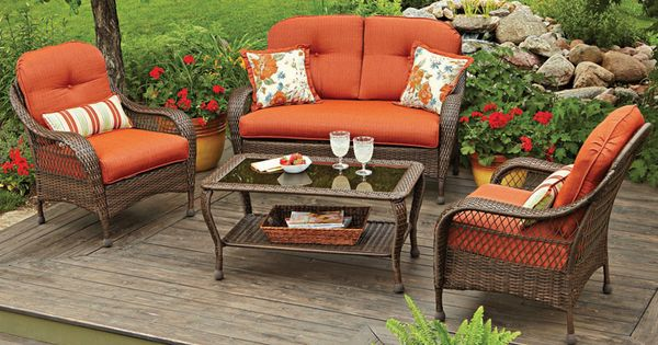 Gather Round With The Bhg Azalea Ridge Chair Set In