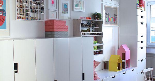 stuva unser platzmangelretter wall storage kids rooms and storage. Black Bedroom Furniture Sets. Home Design Ideas