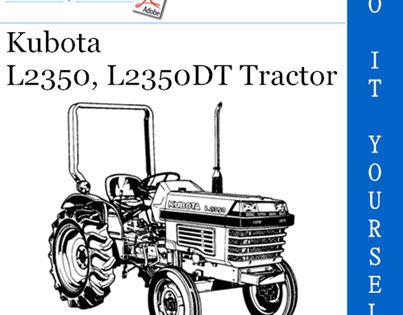 Kubota L2350 L2350dt Tractor Operator S Manual Tractors Kubota Manual