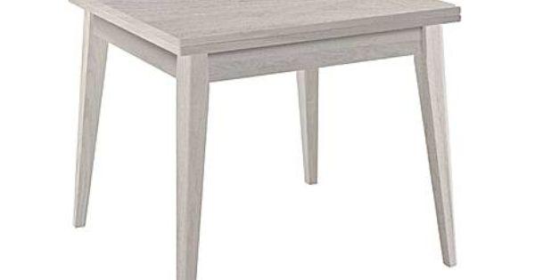 tavolo quadrato 140x140 allungabile : GIESSEGI: tavolo quadrato allungabile oscar olmo - max 180x78x90 cm ...