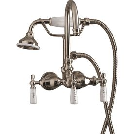 Fixture For Free Standing Tub At Lowes Com Search Results Clawfoot Tub Bathtub Faucet Tub Filler