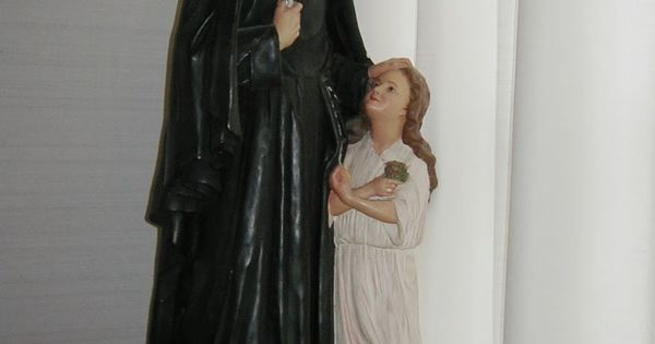 Statue of St Madeleine Sophie Barat at the Convent of the Sacred Heart in Halifax, Nova Scotia ...