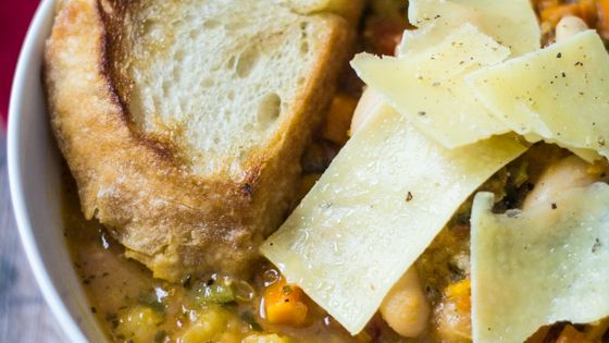 Tuscan Bean Soup by thewanderlustkitchen Soup Bean Healthy