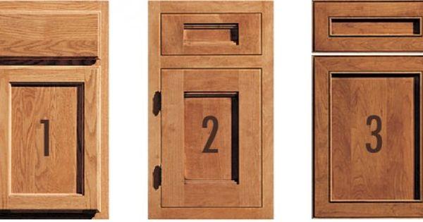 1 Framed Cabinet With Standard Overlay 2 Framed Cabinet With Inset Doors 3 Kitchen Cabinet Door Styles Types Of Kitchen Cabinets Cabinet Door Styles