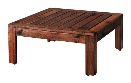 pplar tisch hockerelement au en braun las braun verl ngerungen ikea pplar und aussen. Black Bedroom Furniture Sets. Home Design Ideas