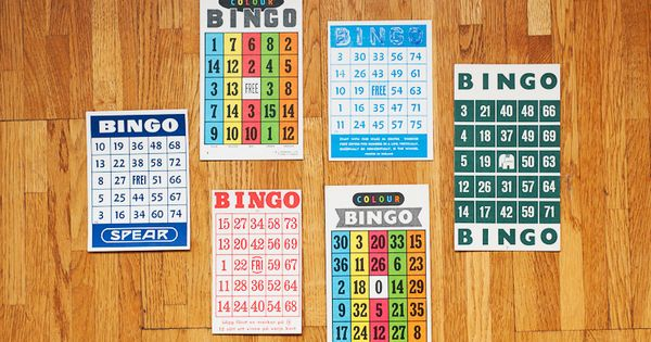 Unexpected Loveliness Bingo Cards Gift Wrapping Gifts
