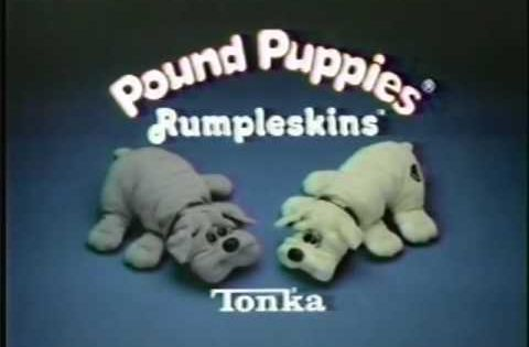 Pound Puppies Rumpleskins Commercial 1986 Do They Have An App