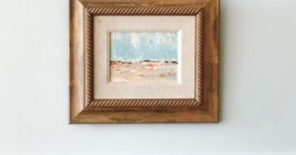 The shore hand painted canvas ballard designs home for Shore home decor