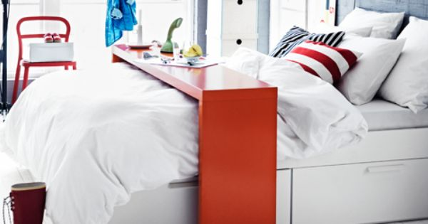 Sunday paper, Ikea malm and Double beds on Pinterest