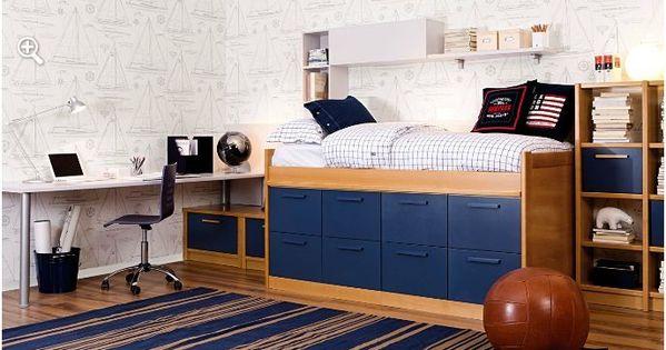 Dormitorio juvenil youth bedroom furniture muebles - Dormitorio juvenil malaga ...