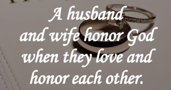 Love Each Other Religious: Song Of Solomon: A Husband And Wife Honor God When They