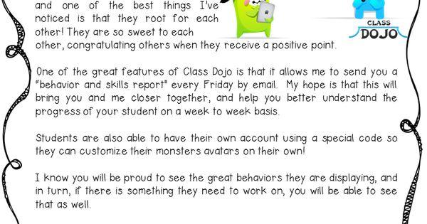 Class Dojo - Student Behavior