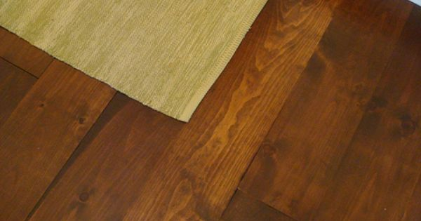 Wide Plank Pine Floor Boards From Lumber Liquidators Just