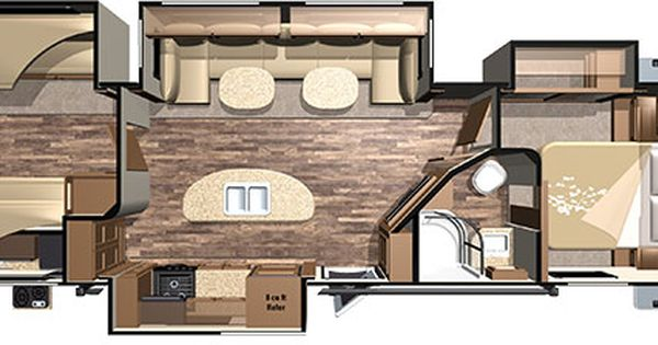 12 Must See Rv Bunkhouse Floorplans Bunkhouse Travel Trailer Travel Trailer Floor Plans Travel Trailer Remodel
