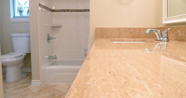 Renovation 2 jack 39 n jill bathroom with chevron tile for Jack n jill bathroom designs