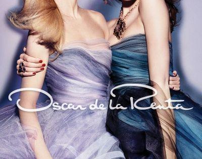 Oscar de la Renta Fall 2012 Ad Campaign   Candice Swanepoel and