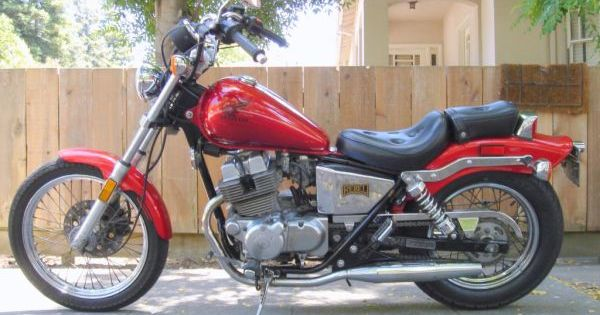 1986 HONDA REBEL 250 - $1600