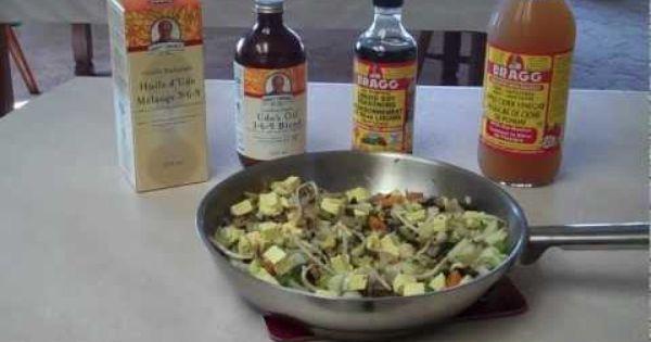 Healthy Vegan Stirfry http://www.diana2.com Organic Vegetables ...