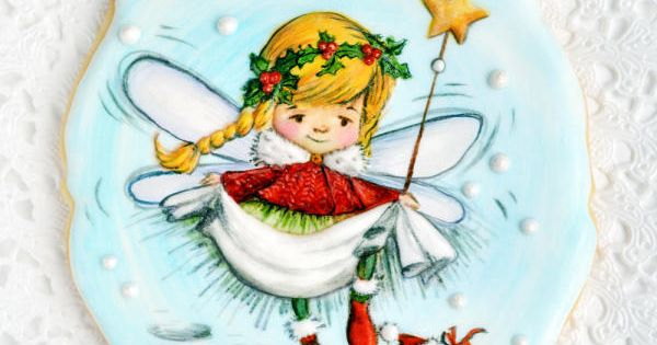Christmas Fairy Cake Decorating Ideas : Christmas fairy cookie by Alina Vaganova Cakes & Cake ...
