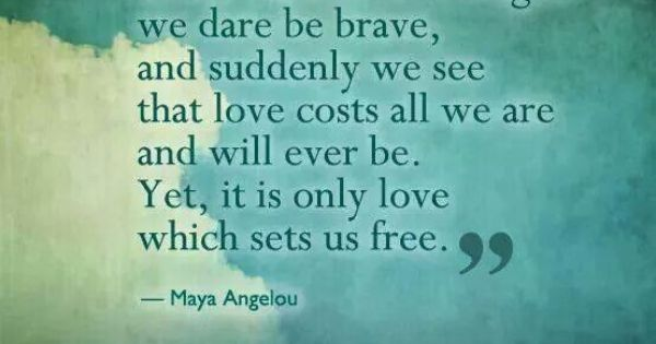memorial day quote maya angelou