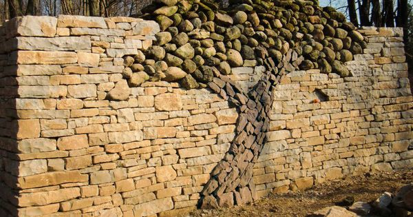 Tree wall -- Rock / Stone Art