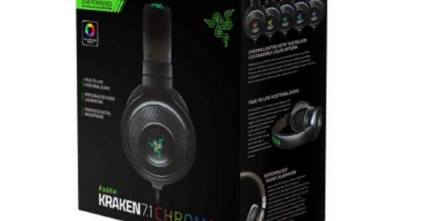 Razer Kraken 7 1 Chroma Buy Gaming Grade Headphones Official Razer Online Store United States Best Gaming Headset Gaming Headset Razer