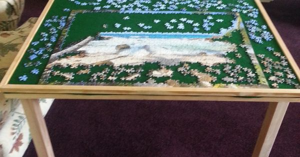 Getting Ready For Winter I Made A Jigsaw Puzzle Table For