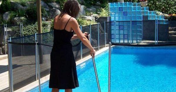 Babysecur fabrica las vallas para piscina de mayor for Piscina para perros madrid
