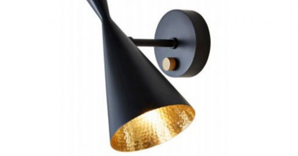 applique moderne h28 5 cm tom dixon lampe de mur beat. Black Bedroom Furniture Sets. Home Design Ideas