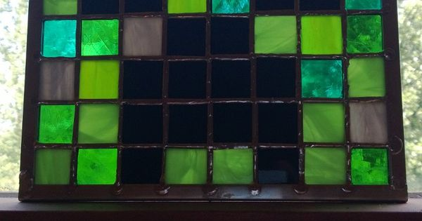 how to make stained glass in minecraft