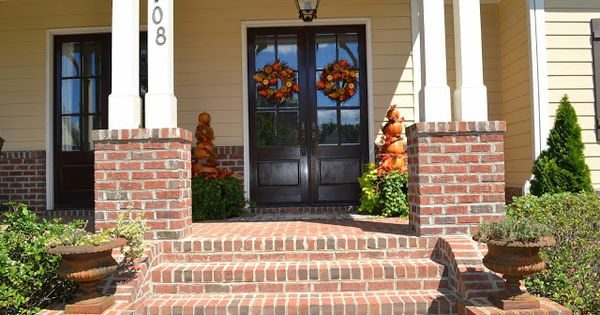 Best Brick Front Porch Brick Steps Porch Pinterest Brick 400 x 300