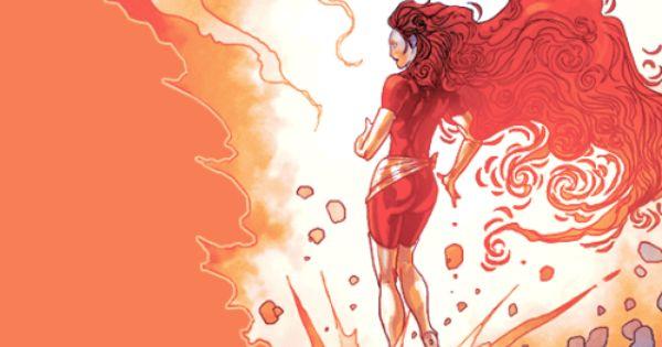 Manof2moro Marvel Jean Grey Jean Grey Phoenix Superhero Art
