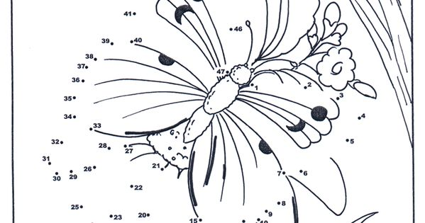 Connect the Dots butterfly TeachingSummer Sunsations