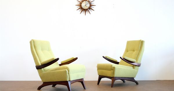 Pair Of Mid 1960s Mid Century Lounge Chairs By Greaves And Thomas Www Sputnikfurniture Com Vintage Interior Design Mid Century Lounge Chairs Vintage Interior